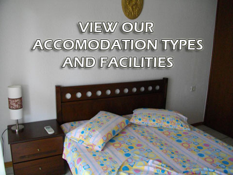 View our accomodation types and facilities